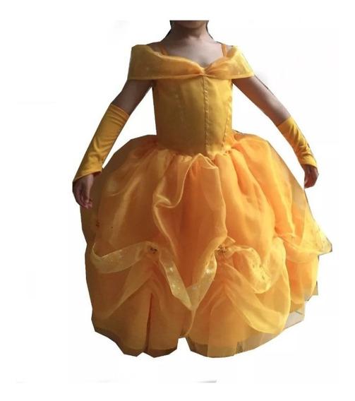 Hermoso Vestido De Bella Y Bestia(alta Costura)