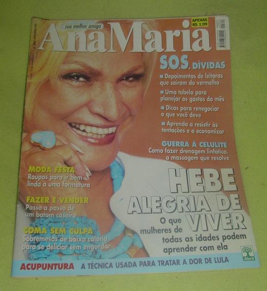 Revistas Ana Maria - Hebe Camargo - Frete Grátis