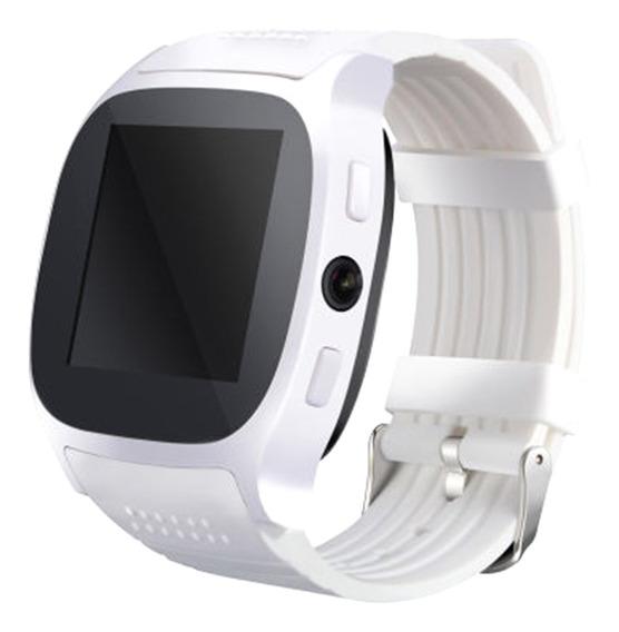 Reloj Inteligente De T8 Bluetooth Compatible Con Móvil