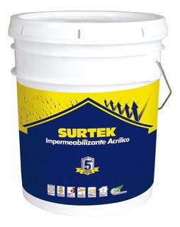 Surtek-impermeabilizante Color Terracota 19l *imt5