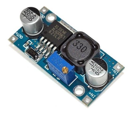Fuente Step Up Xl6009 Dc -dc Ajustable Arduino