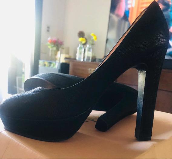 Zapatos Sibyl Vane Cuero 37 Fiesta Impecables