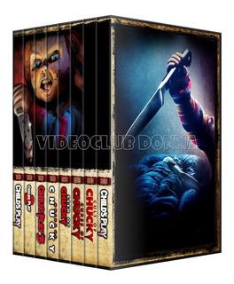 Chucky Saga Colección Completa Dvd 8 Peliculas Pack Latino