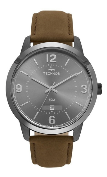 Relógio Technos Masculino Steel 2115mte/2c Original Nf