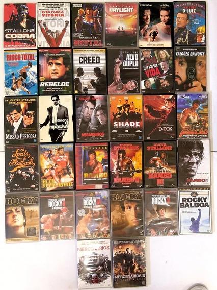 Sylvester Stallone - Coleção Com Os 32 Melhores Filmes