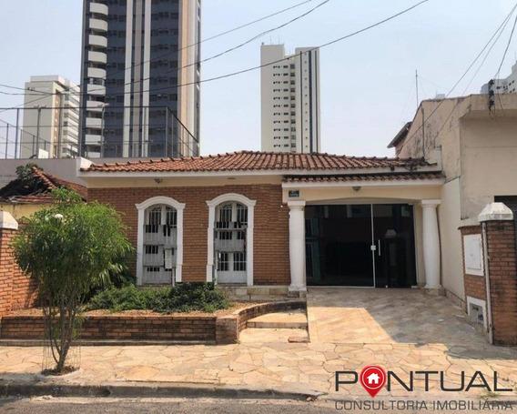 Casa Para Locação Com 3 Dormitórios Próximo Ao Centro, Marília/sp - Ca00184 - 4902357