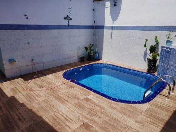 Casa Em Caiçara, Praia Grande/sp De 110m² 2 Quartos À Venda Por R$ 399.999,99 - Ca345658