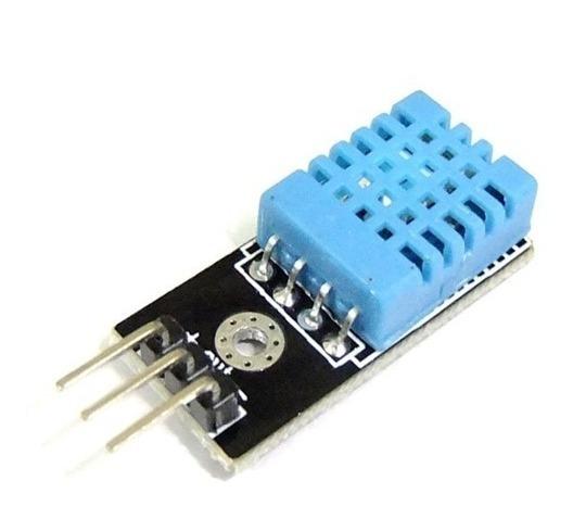 Módulo Sensor De Umidade E Temperatura Com Jumper - Dht11