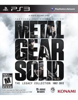 Colección Metal Gear Solid Legacy - Playstation 3