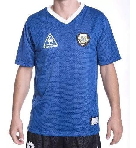 Camiseta Argentina Titular Y Suplente 1986 10 Maradona