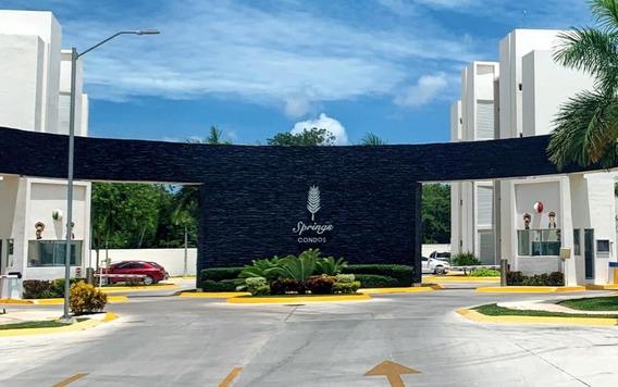 Departamento En Renta En Cancún, Springs Condos Ii C2610