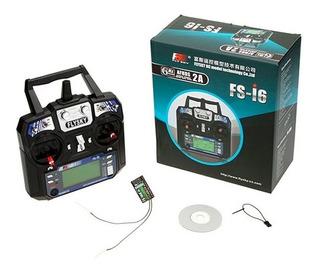 Radio Transmisor Flysky Fs-i6 2.4ghz 6 Canales - Drone