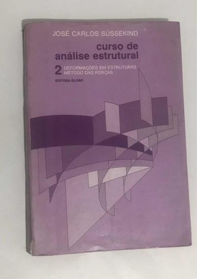 Livro Curso De Análise Estrutural Vol2 José Carlos Sussekind