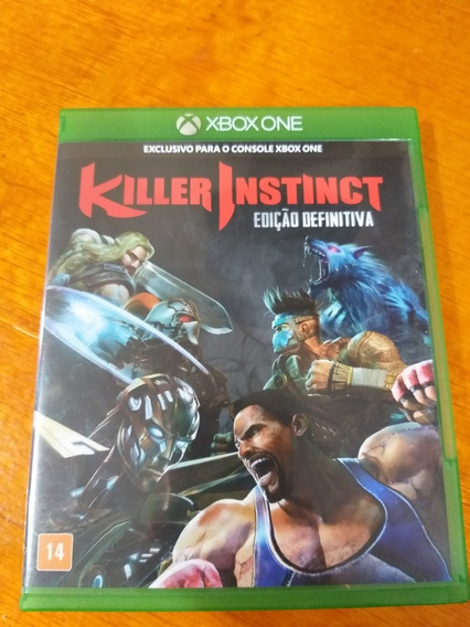 Killer Instinct Definitive Edition Xbox One Midia Fisica