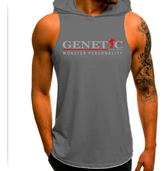 Musculosa Capucha Entrenamiento Genetic Monster Personality