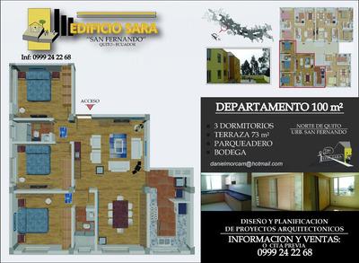 Departamentos 3 Dormitorios Norte De Quito