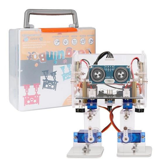 Robot Bipedo Pingüinobot Control Reproductor Musica Bagc