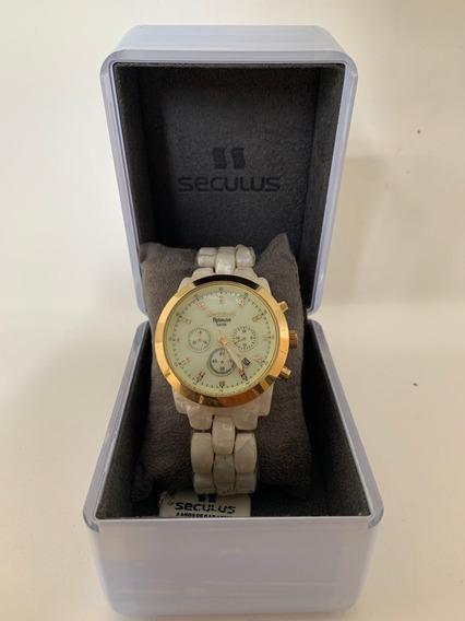 Relógio Seculus Aplause 5atm Feminino M Função/original/nf