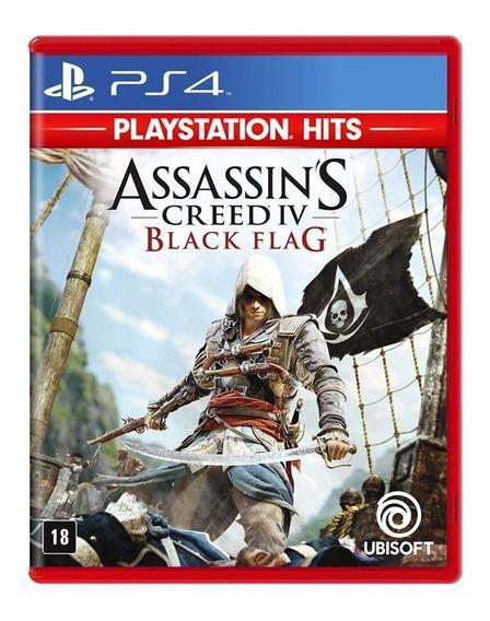Assassins Creed 4 Black Flag Hits Ps4 Mídia Física Lacrado