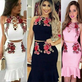 22a743a44 Vestidos De Moda Elegantes Juveniles - Vestidos de Mujer en Mercado ...