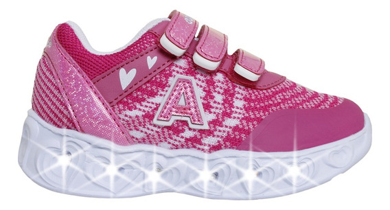 Zapatillas Addnice Moda Arrow Corazon Abrojo Niña Fu/rs