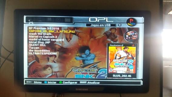 Playstation 2 Ps2+10jogos Ps2+5jogos De Ps1+ 110 Jogos Snes