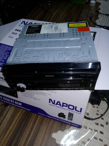 Dvd Tv 7998 Bt New Napoli + Receptor Tv Digital