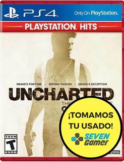 Uncharted Collection Ps4 Fisico Sellado Nuevo
