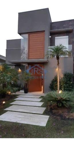 Imagem 1 de 30 de Casa Com 4 Dormitórios À Venda, 530 M² Por R$ 4.600.000,00 - Tamboré - Santana De Parnaíba/sp - Ca0436