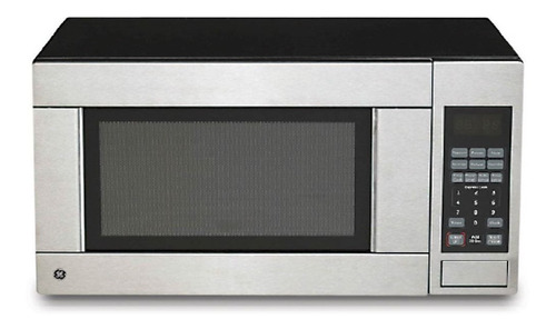 Microondas General Electric 31 Lts Grill Acero Inox Pcm