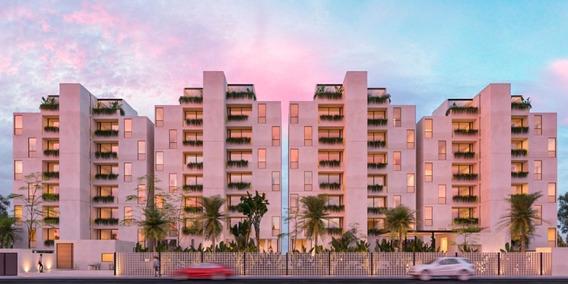 Penthouse De 2 Recamaras En Via Cumbres, Cancun