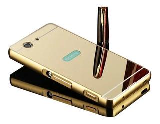 Funda Espejada Mirror Case Aluminio Para Sony Xperia M4