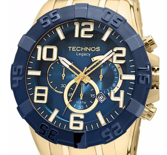 Relógio Technos Masculino Legacy Dourado - Os20iq/4a