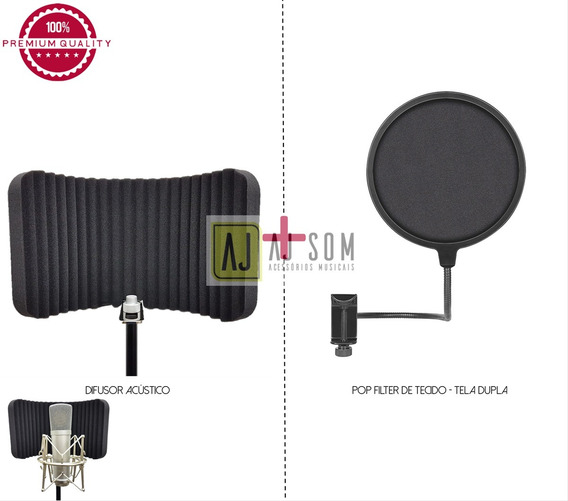Kit Difusor Acústico Slim+pop Filter 6