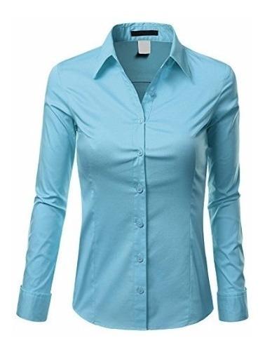 Camisa Social Feminina Slim Noblemen