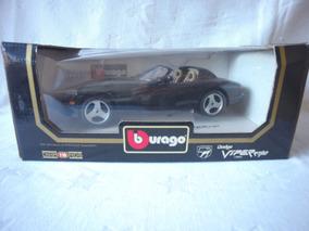 Burago Dodge Viper Rt/10 - 1993 - Cod. 3065 - Preto + Caixa