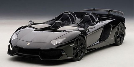 1/18 Autoart Lamborghini Aventador J Black