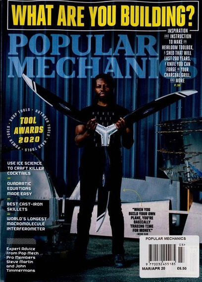 Popular Mechanics Revista - Assinatura 6 Meses (3 Revistas)