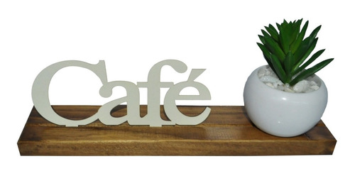 Base Maior Palavra Café Pinus Luxo