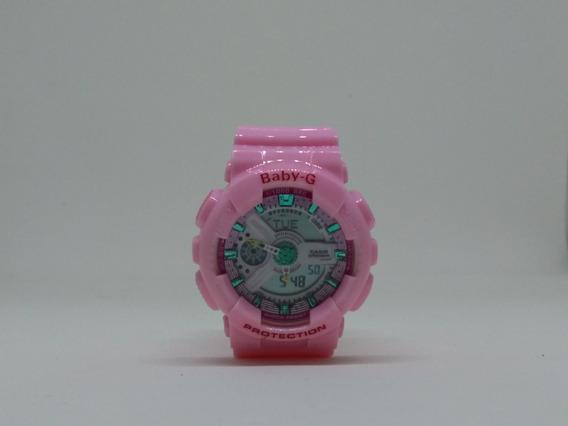 Relógio Pink-chiclet Sport Feminino