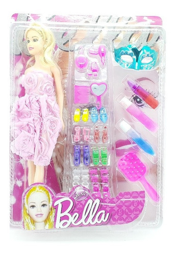 Barbie Muñeca Bella Para Niñas