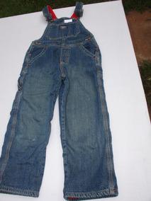 = Roupa Lote 117 Menino Usa Jardineira Jeans Osh Kosh Bgosh