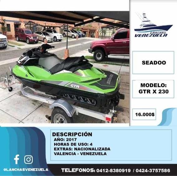 Moto De Agua Seadoo Gtr X 230 Lv140