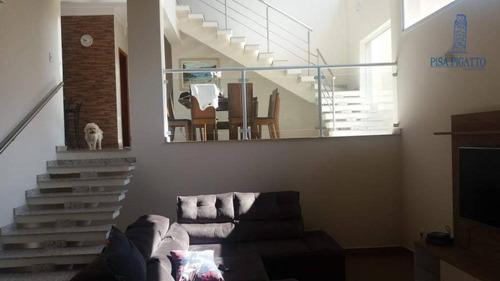Imagem 1 de 12 de Casa À Venda, 319 M² Por R$ 1.020.000,00 - Condomínio Alto Da Boa Vista - Paulínia/sp - Ca2379