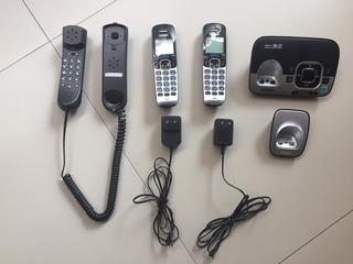 2 Teléfonos Inalámbricos Uniden Dect 6.0 Y 1 Telecom