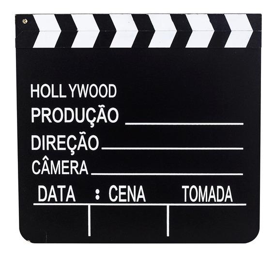 Claquete De Filmes Para Canal Youtube Tv Decoração 30x28