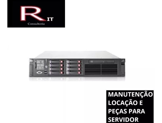 Servidor Hp Dl380 G7 Com 64 De Ram E 2 Processadores Sixcore