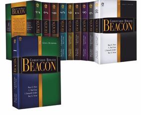 Comentário Bíblico Beacon Pd Antigo E Novo Testamento Df.