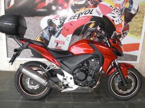 Honda Cb 500 F 2014 Vermelha Estudo Troca