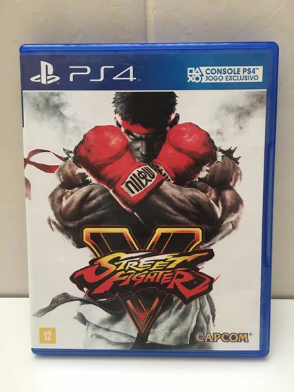 Street Fighter V - Mídia Física Ps4